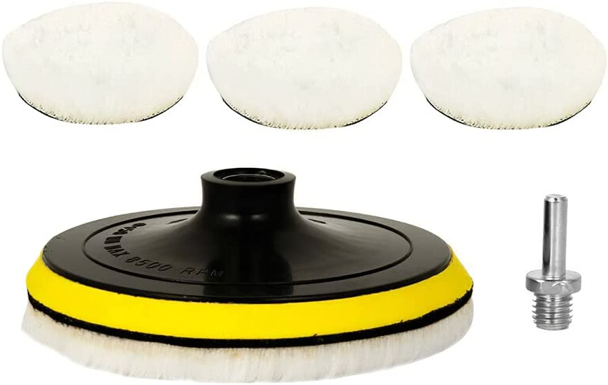 5Pcs Set Polishing Pad For Recommended Car 5 Inch Circle Polisher Direct stock discount