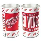 """Detroit Red Wings 15"""" Waste Basket"""