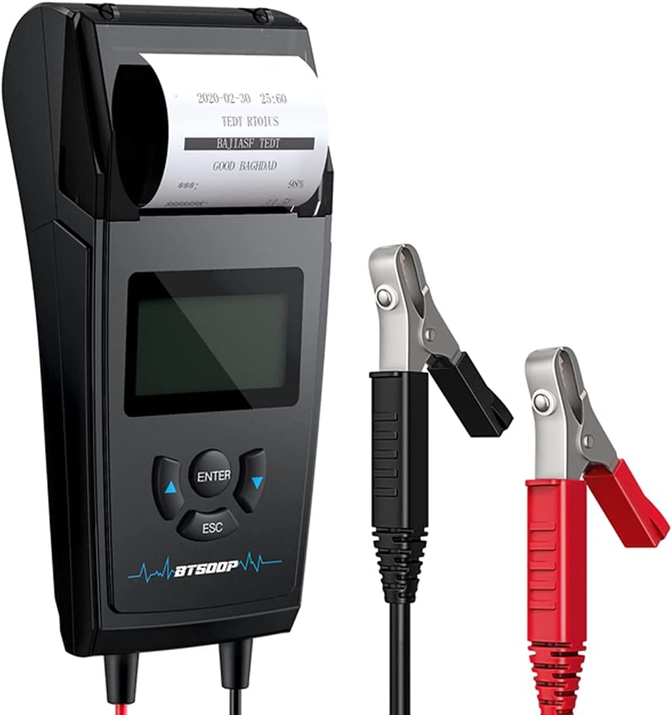 TWDYC Car Battery Fresno Mall Tester BT500P 12V Print Wholesale with 24V T