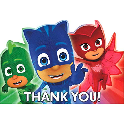 """""""PJ Masks""""""""Thank You"""" Postcards, Party Supply, 48 Ct."""
