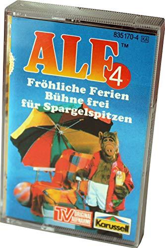 ALF MC Nr. 4 - Fröhliche Ferien + Bühne frei für Spargelspitzen  - Original Hörspiel zur TV-Serie [Musikkassette]