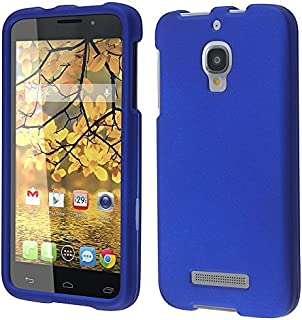 For Alcatel One Touch Fierce 7024W Cover Case (Hard Blue)