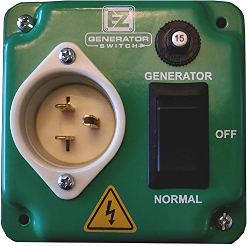 EZ Generator Switch - Generator Manual Transfer Switch Universal UL/CSA Approved