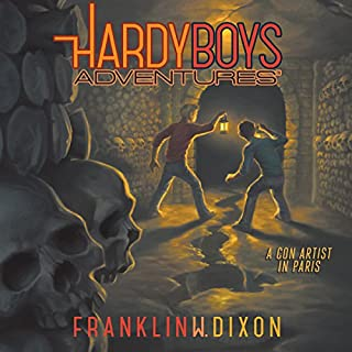 A Con Artist in Paris     The Hardy Boys Adventures, Book 15              Written by:                                                                                                                                 Franklin W. Dixon                               Narrated by:                                                                                                                                 Tim Gregory                      Length: 3 hrs     Not rated yet     Overall 0.0