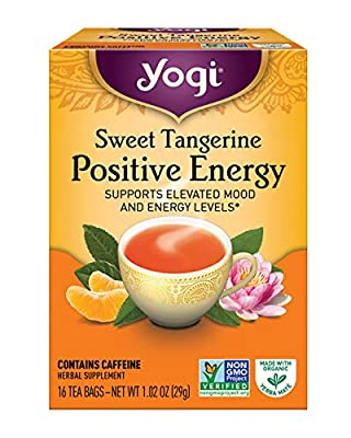 Yogi Tea, Sweet Tangerine Positive Energy, 16 Count by Yogi Tea