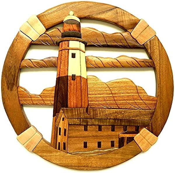 Montauk Lighthouse Wood Art