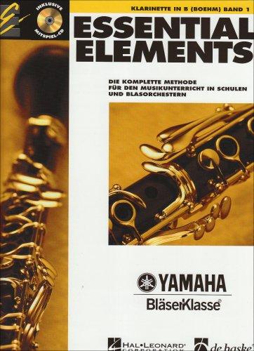 Essential Elements, für Klarinette in B (Boehm), m. Audio-CD