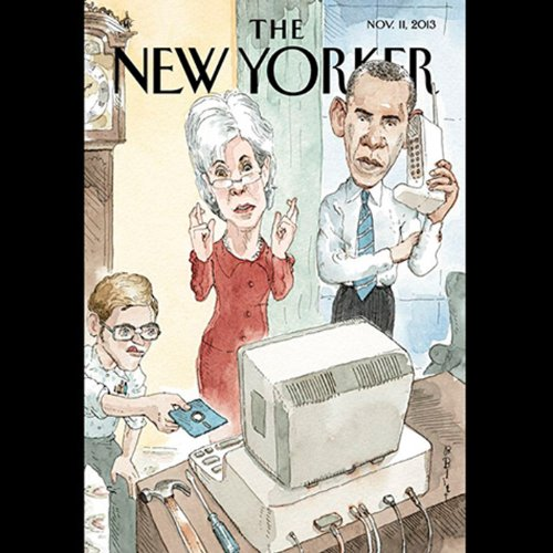 The New Yorker, November 11th 2013 (Nicholas Lemann, Anne Applebaum, John Cassidy) copertina