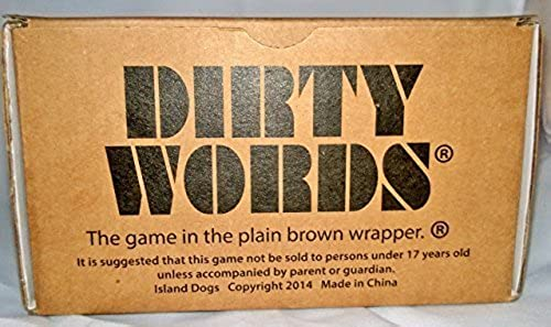 DIRTY WORDS - 1977 by The Game in the plain braun wrapper
