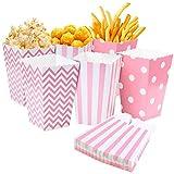 Comius Scatole di Popcorn, 36 PCS Pop Corn Box, Scatole di Caramella di Carta della Puntina...