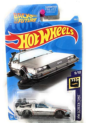 Hot Wheels 2019 HW Screen Time Back to The Future Time Machine Hover Mode 108/250