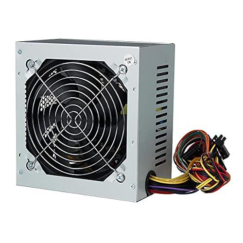 12V 550W Gaming PC fuente de alimentación unidad ventilador silencioso CPU ATX 4-Pin PCI-E SATA PC