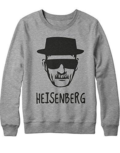 Sweatshirt Heisenberg Walter White Cook Crystal Meth C653369 Grau M