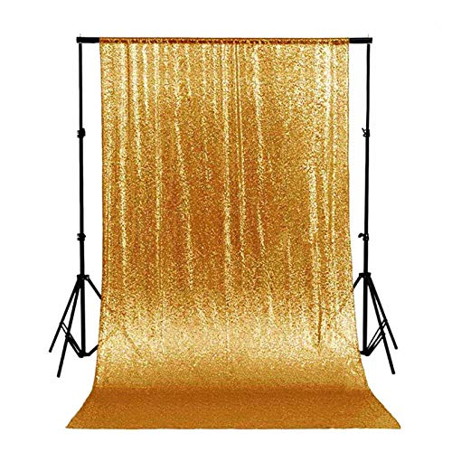 ShiDianYi 4FTX6FT-Gold-SEQUIN Photo Backdrop,Party/Prom Photography...