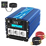 Giandel Power Inverter Onda Sinusoidale Pura 3000W Convertitore DC 12V a AC 220V 230V con ...