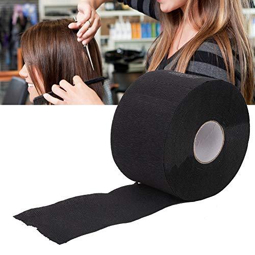 Tiras de papel de cubierta de cuello desechables, tejido de cuello de corte de pelo suave para peluquería Accesorio de peluquería para peluquería Salón de belleza
