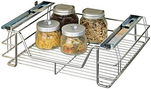 WENKO Schrankauszug Midi Auszug Ausziehbare Ablage Küchenmöbel Wenko