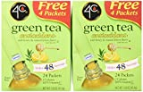 4c Iced Tea Stix Totally Light Tea2go Green Tea Antioxidant W/honey (2 Pack)