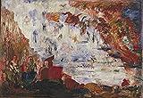 James Ensor Tribulations of Saint Anthony c19670 A0 Poster - Papel fotográfico grueso brillante (40/33 inch)(119/84 cm) - Película Película Decoración de pared Arte Actor Actriz Regalo Anime Auto Ci