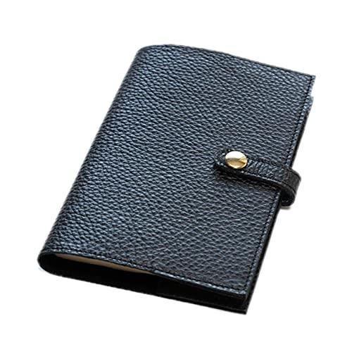 maf pinto (マフ ピント) 手帳カバー&ブックカバー レザー 本革 日本製 (64.ブラック, A6サイズ (文庫サイズ) ADRIA LINE)