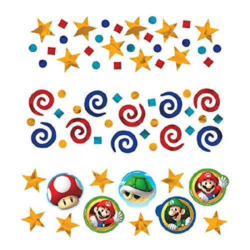 amscan International Confettis Super Mario 361554 34 g (Lot de 3)
