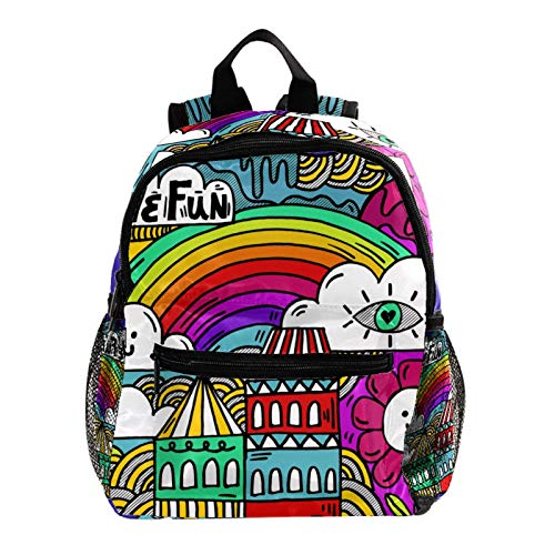 College Backpack, Travel Laptop School Backpack,Middle Student Bookbag,Vintage Casual Daypack for Boys Girl,Have Fun Cute