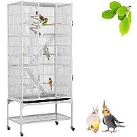 Yaheetech Jaula Grande para Pájaro Jaula para Loros Canarios Aves Jaula para Mascota