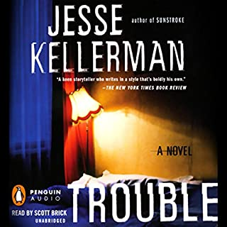 Trouble audiobook cover art