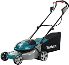 Makita DLM460Z Twin 18V (36V) Li-ion LXT Brushless Lawn Mower - Batteries and Charger Not Included, Blue