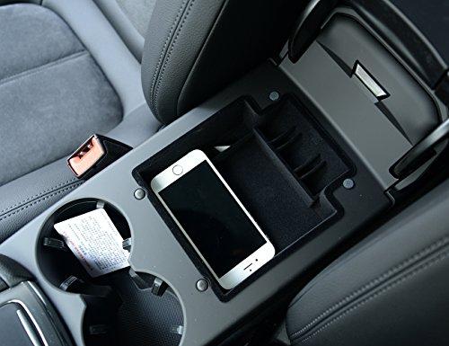 METYOUCAR Auto Handschuh Box Armlehne Aufbewahrungsbox Behälter Telefon Geld Münzrähmchen