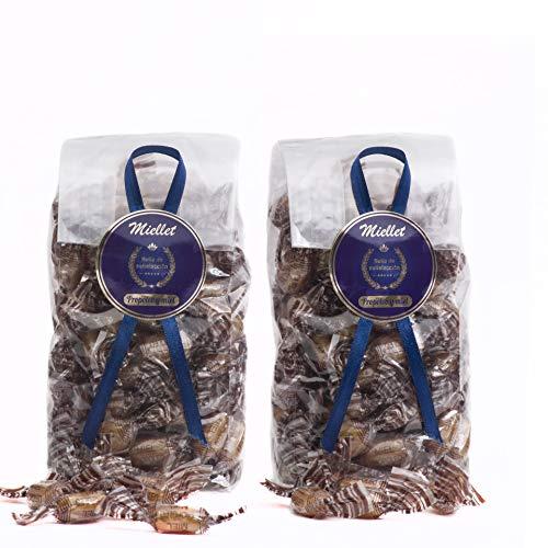 500gr (PACK 2 BOLSAS) - Miellet - Miel & Propóleo - Caramelos artesanales con própolis puro. Cicatriza las heridas, suaviza y evita las infecciones respiratorias y de garganta. SIN GLUTEN