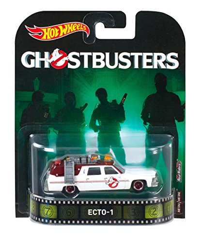Hot Wheels ECTO-1 Ghostbusters Retro Entretainment