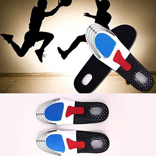 Plantilla Unisex Orthotic Arch Support Shoe Pad Running Gel Plantillas Deportivas Cojín De Inserción Plantillas De Calzado para Senderismo Al Aire Libre Zapatos Accesorio