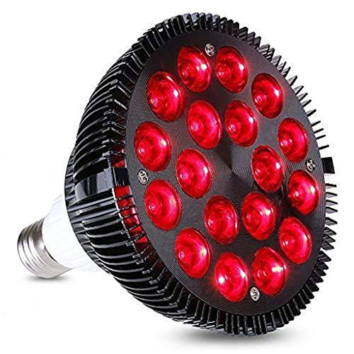 WYNA Plant Growth Lampe, LED wachsen Glühlampe Gute Wärmeableitung, E26 / E27 Sockel Anlage wachsen Lichter, für Zimmerpflanzen Garten Blumen Gewächshaus hydroponischen,54w
