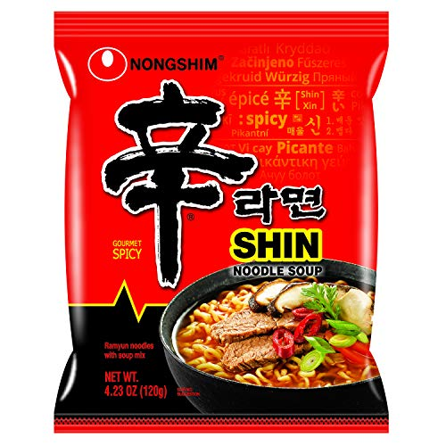 Nongshim Shin Ramyun Noodle Soup (Pack of 20) Now $16.66 (Was $27.80)