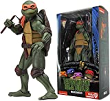 SNFHL Turtles Jouet Articulé Teenage Mutant Ninja Turtles Jouet Poupée, Personnage de Dessin Animé Modèle Jouet Collection Anniversaire pour Enfants 5.9in