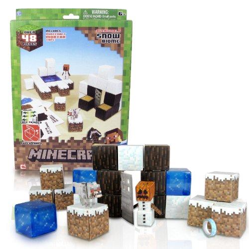 Minecraft Papercraft Snow Set