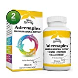 Terry Naturally Adrenaplex - 120 Capsules - Pack of 2 - Maximum Adrenal Support Supplement - Promotes Daily Energy, Mental Focus & Physical Endurance - Non-GMO, Gluten Free - 120 Total Servings