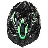 ZHXH cap Fiber Generale del Motociclo per Adulti Casco di Sicurezza del Carbonio E Visiera 19 Buche Motociclismo Equitazione Casco Protettivo,02