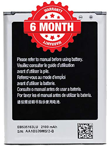 NSR Ando Mob™ Mobile Battery Compatible for Samsung Galaxy Grand Neo Plus GT-i9060i EB535163LU (6 Months Warranty)