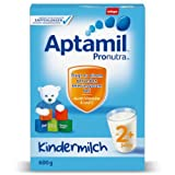 Aptamil Kinder-Milch ab 2J., 4er Pack (4 x 600 g Packung) -