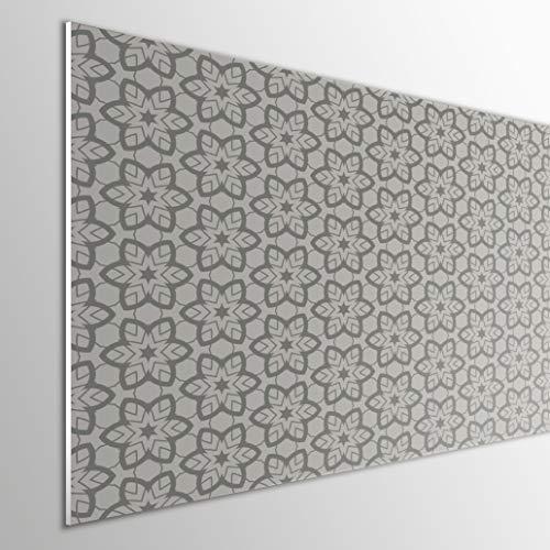 MEGADECOR DECORATE YOUR HOME Cabecero Cama PVC 5mm Decorativo Económico. Modelo - Bardu (100x60cm)