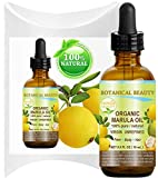 Organic MARULA OIL WILD GROWTH 100% Pure Extra Virgin, Unrefined Cold-Pressed 0.5 Fl.oz.- 15 ml Moisturizer for FACE, DRY SKIN, BODY, DAMAGED HAIR, NAILS, Anti-Aging, Healing by Botanical Beauty