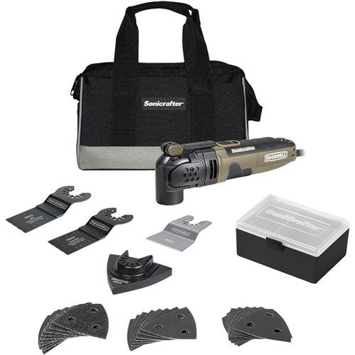 Rockwell 3.0 Amp Sonicrafter Oscillating Multi-Tool, with Variable Speed, Hyperlock...