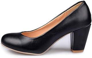 HUSKSWARE women Casual High Heel Pumps/Courts