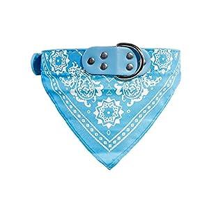 Zhi Jin réglable Mode Pet Collier de bandana à motif de chien chiot Chat col écharpe Foulard