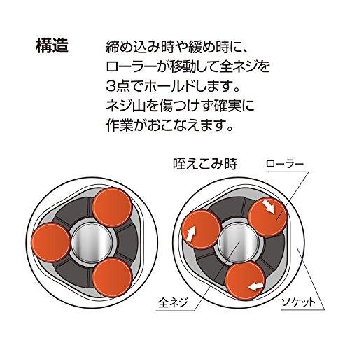『ベッセル(VESSEL) 全ネジレンチ ZW-3 適応径:全ネジ3/8インチ X140X32X22㎜』の5枚目の画像