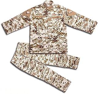 H World Shopping H Mundo Compra Tactical Airsoft niños Ropa niños BDU Caza Militar Camuflaje Chaqueta