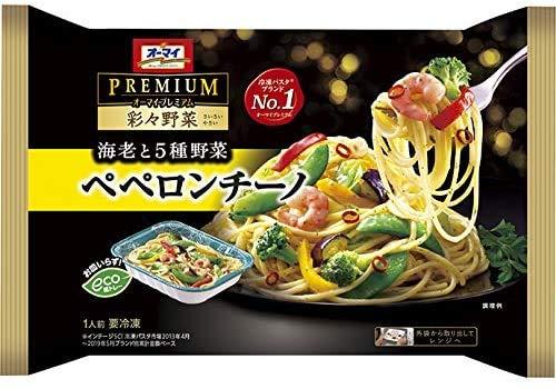 【冷凍】日本製粉 オーマイプレミアム 彩々野菜ペペロンチーノ 260gX6袋