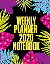 Weekly Planner 2020 Notebook: Weekly Planner 2020 Notes